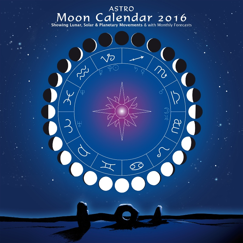 Lunar Calendar 2016 Moon Phases | Calendar Template 2016