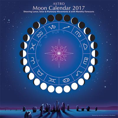 Astro MOON CALENDAR 2017 -